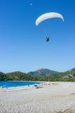 Paragliding Arkivbilder