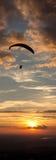 Paragliding Royaltyfria Foton