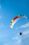 Paragliding Arkivfoton