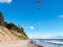 Paragliding 3 Foto de Stock Royalty Free