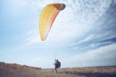 paragliding Стоковое Изображение