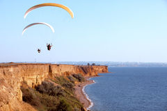 paragliding Imagens de Stock Royalty Free