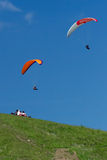 paragliding Foto de archivo