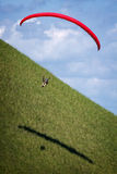 paragliding Fotos de Stock Royalty Free