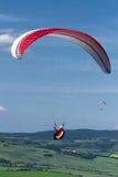 paragliding Imagen de archivo