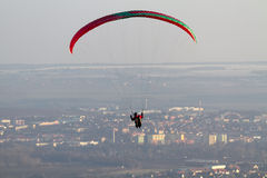 paragliding Obraz Royalty Free