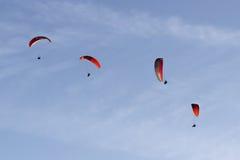 paragliding Foto de Stock Royalty Free