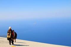 paragliding immagini stock