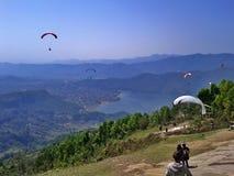 paragliding Immagine Stock Libera da Diritti
