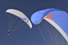 Paragliding royalty free stock image
