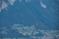 Paragliding, Fotografía de archivo libre de regalías