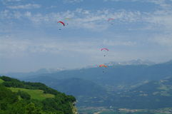 paragliding Stockfotos