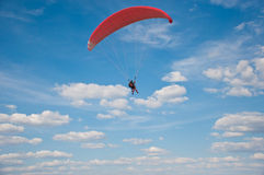 paragliding Imagens de Stock