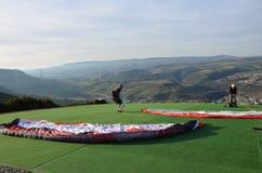 paragliding Immagine Stock