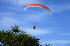 Paragliding 011 Royaltyfria Foton