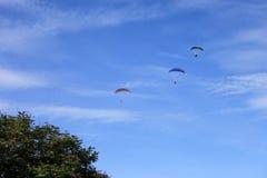 Paragliding 008 Fotografia Royalty Free