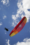 paragliding Стоковые Изображения RF