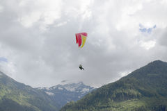 paragliding Immagine Stock
