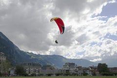 paragliding Fotografie Stock
