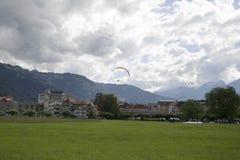 paragliding Fotografia Stock
