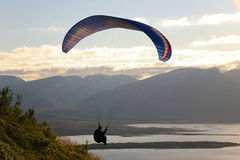Paragliding Royalty Free Stock Photos