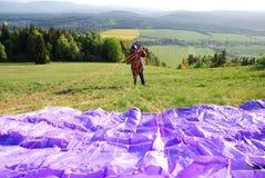 paragliding Стоковое Изображение RF