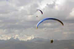 paragliding immagini stock libere da diritti