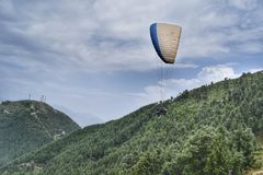 paragliding Stockfotografie
