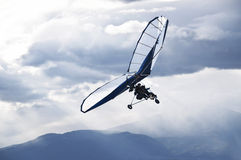 Paragliding. As extreme and fun sport stock photo