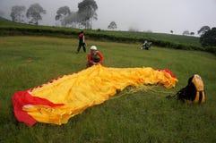 Paragliding Royalty Free Stock Photos