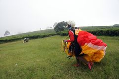 Paragliding Stock Photography
