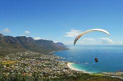 Free Paragliding - Cape Town - South Africa Stock Photos - 99566343