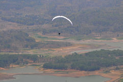 Paragliding competition in Indonesia Stock Images