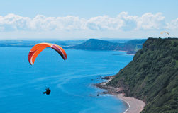 Paragliding. Stock Image