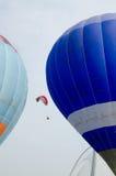 Paragliding en putrajaya Imagen de archivo libre de regalías
