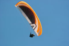 Paragliding, hang gliding Royalty Free Stock Images