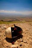 Paragliding Helmet Stock Images
