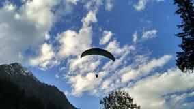 Paragliding himachal pardesh Fotografia Royalty Free