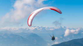 Paragliding II stock photography