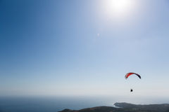 Paragliding in Italy Stock Images
