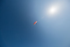 Paragliding in Italy Stock Image