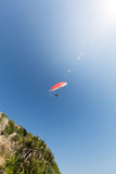 Paragliding in Italy Royalty Free Stock Image