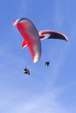 Paragliding Stock Image