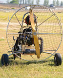 Paragliding motor Royalty Free Stock Photo