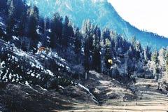 Paragliding on Mountains stock photos