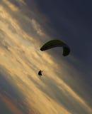 Paragliding nad Jeziornym Erie Obraz Royalty Free