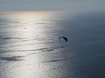 Paragliding Oludeniz. Paragliding in oludeniz,close to beautiful sea stock images