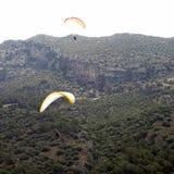 Paragliding (from Oludeniz - Fethiye) Royalty Free Stock Photography