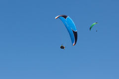 Paragliding  in Oludeniz Stock Photography