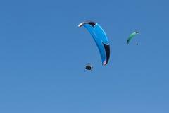 Paragliding  in Oludeniz Stock Photography